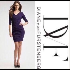 DVF PURPLE DRESS 4
